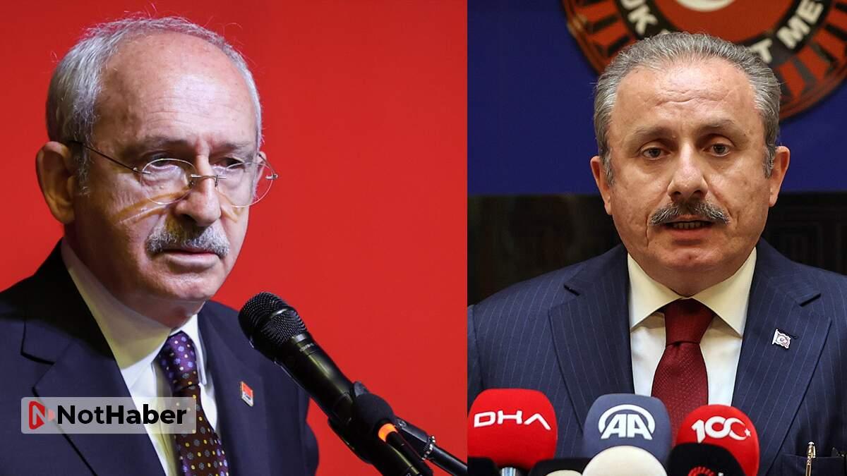 Şentop'tan Kılıçdaroğlu'na sert yanıt!