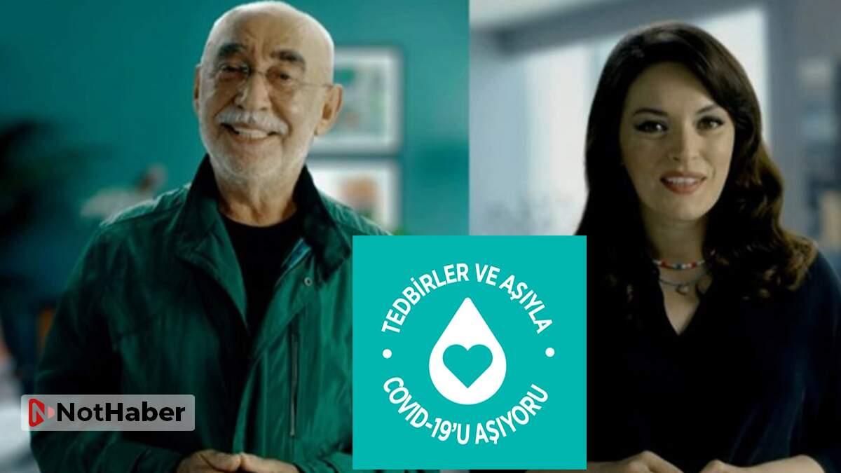 Şener Şen ve Ezgi Mola 'Kolları Sıvıyoruz' kampanyasının yüzleri oldu
