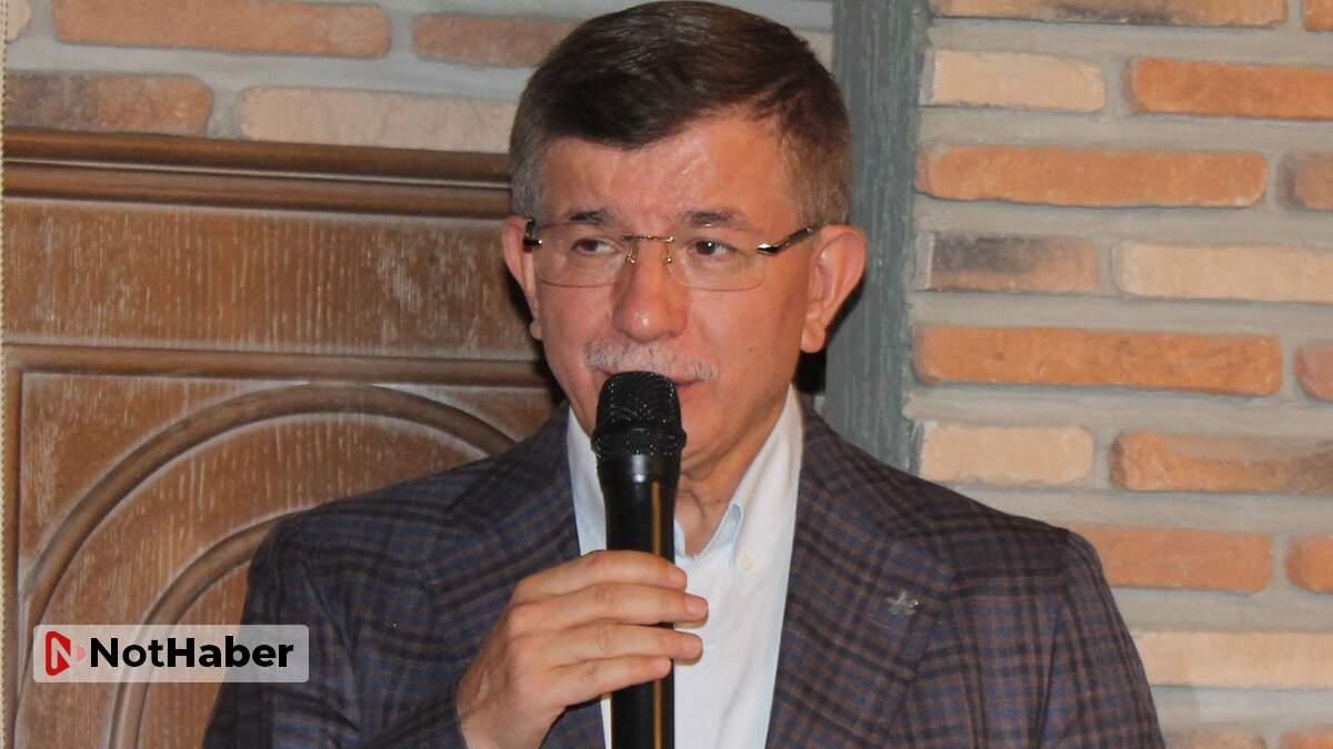 Ahmet Davutoğlu: Babacanla parti kurmak için her türlü fedakarlığı yaptım!