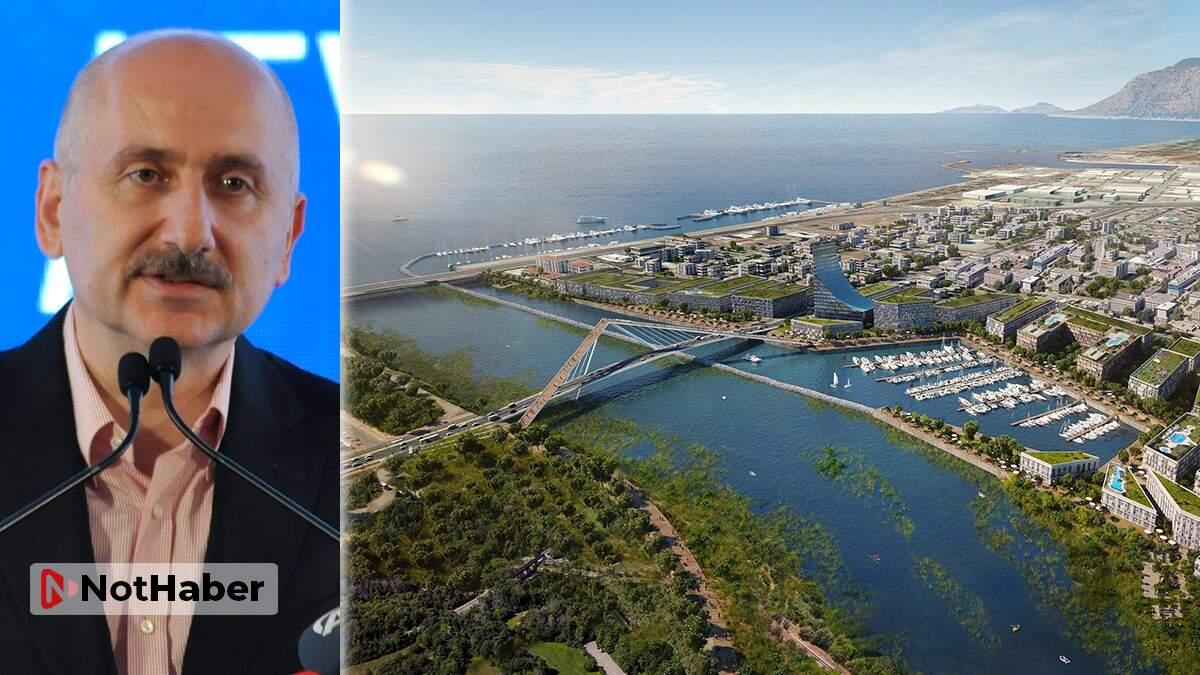 Karaismailoğlu: Kanal İstanbul sayesinde Marmara, Avrasya'nın merkezi olacak!