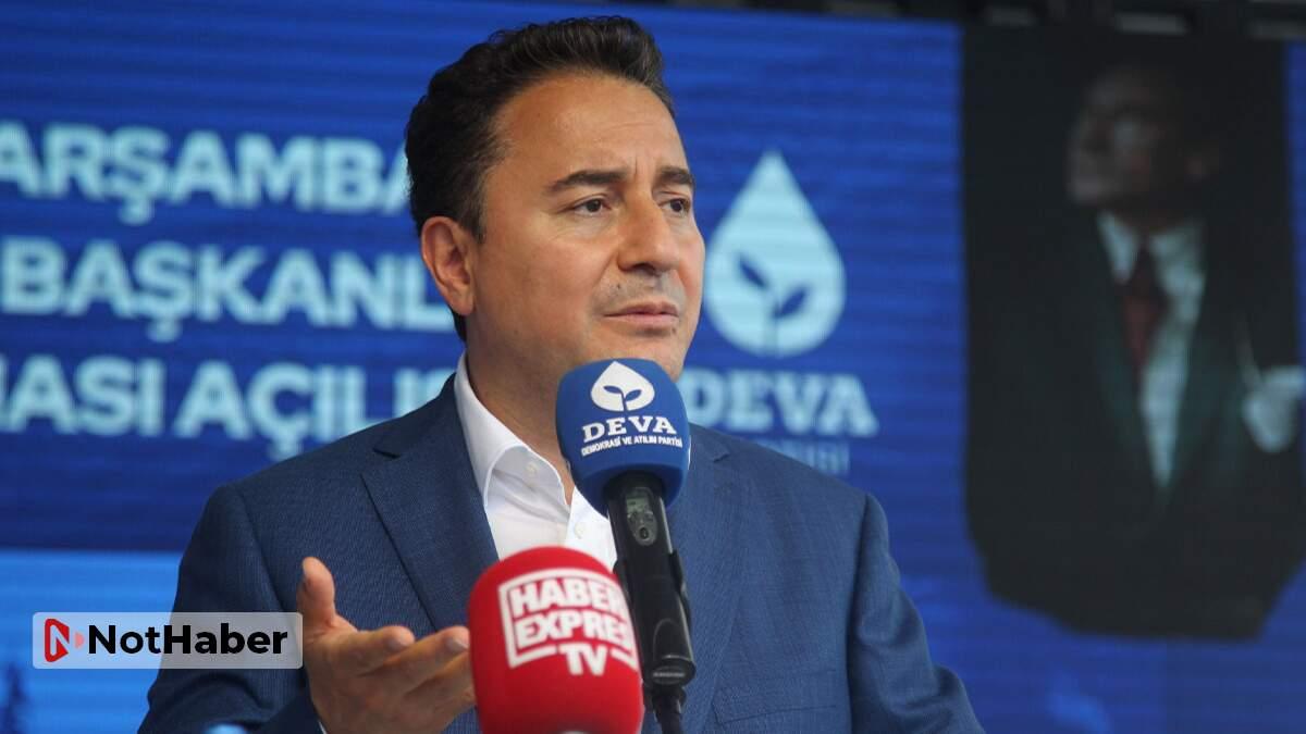 Ali Babacan: Parlamenter sisteme dönüş eskiye dönmek değil!