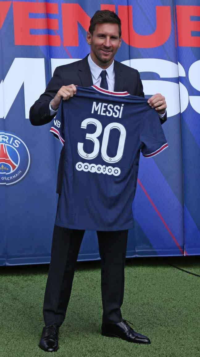 PSG'ye imzayı atan Messi'den ilk mesaj: Hayatım değişti!