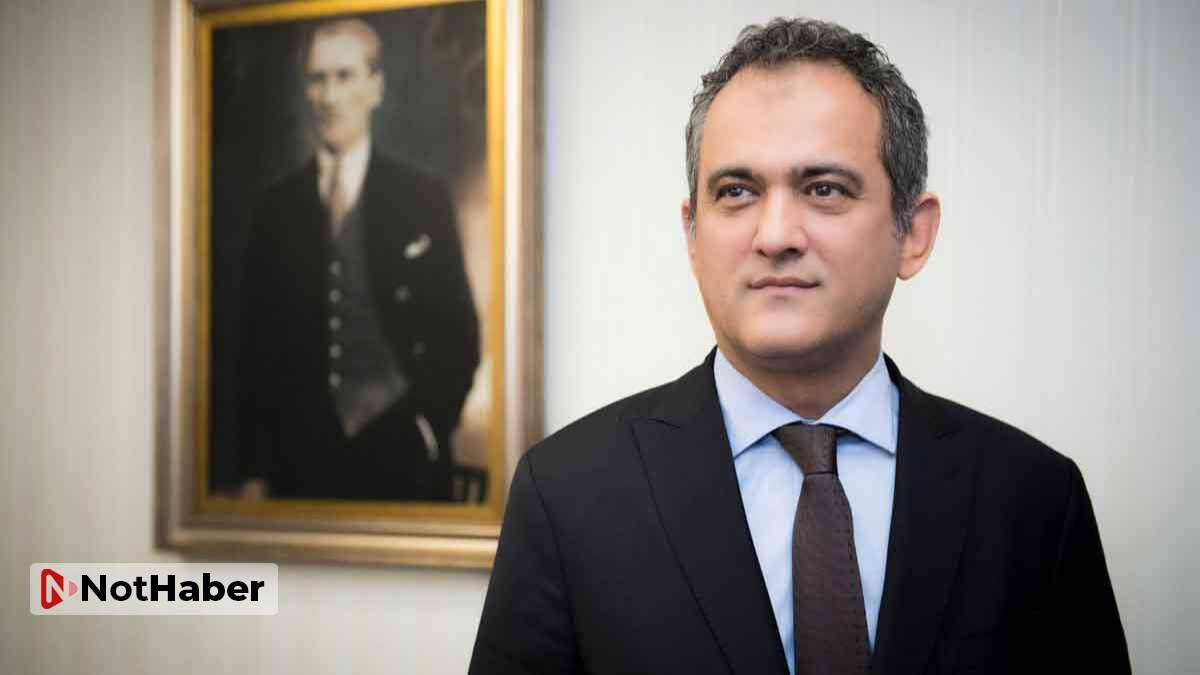 Milli Eğitim Bakanı'ndan açıklama: Velilerimiz çok rahat olsunlar
