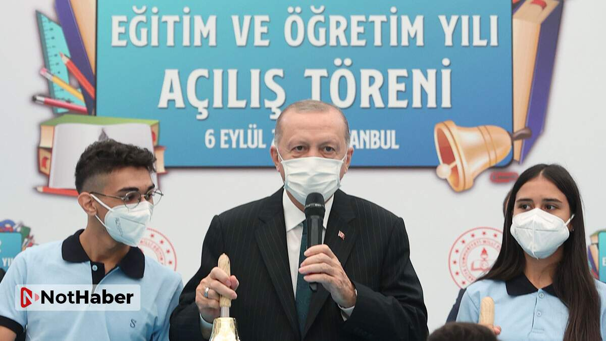 Erdoğan: Yüz yüze eğitimi devam ettirmekte kararlıyız!