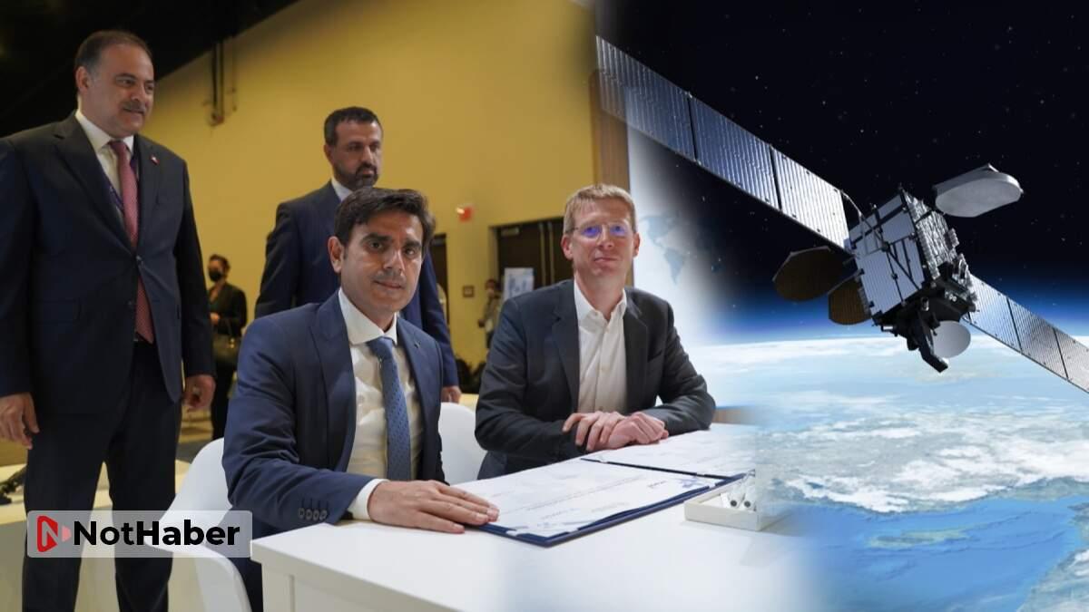 Türksat 5B ilk anlaşmasını imzaladı