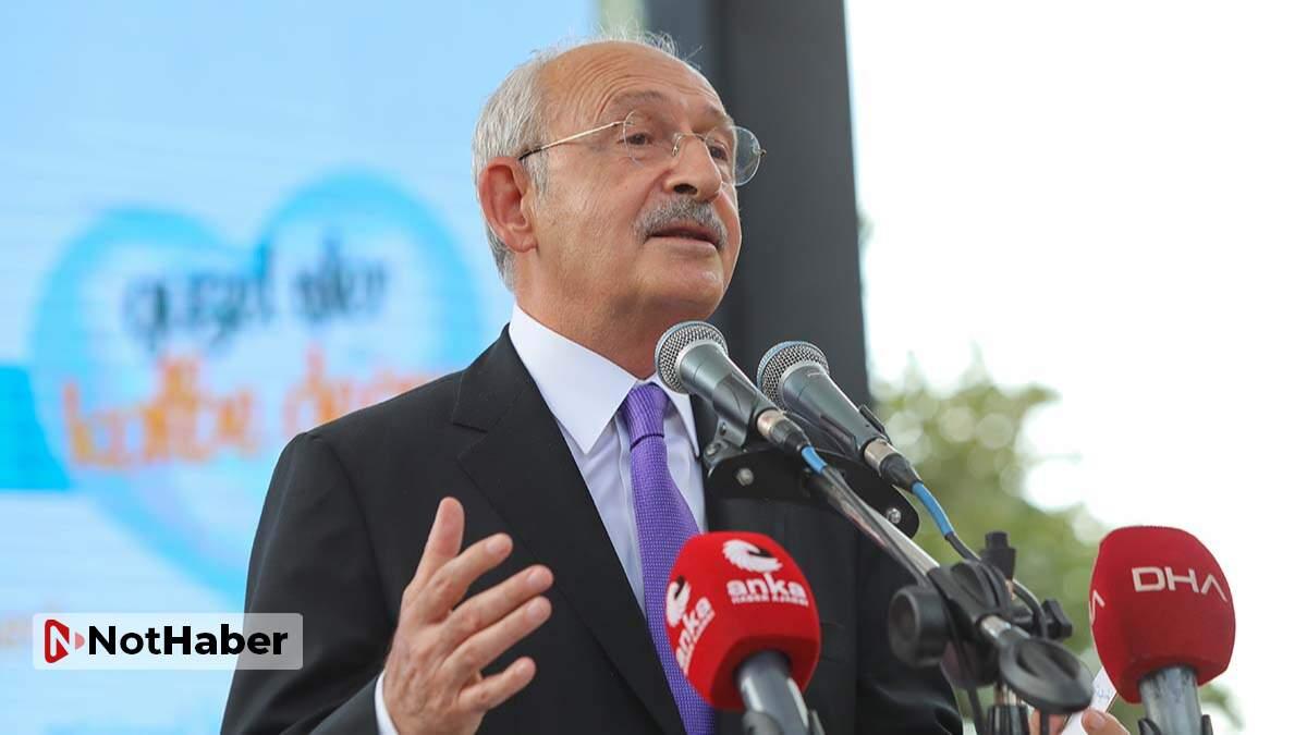Kemal Kılıçdaroğlu, 'Erdoğan'ı ciddiye almayın'