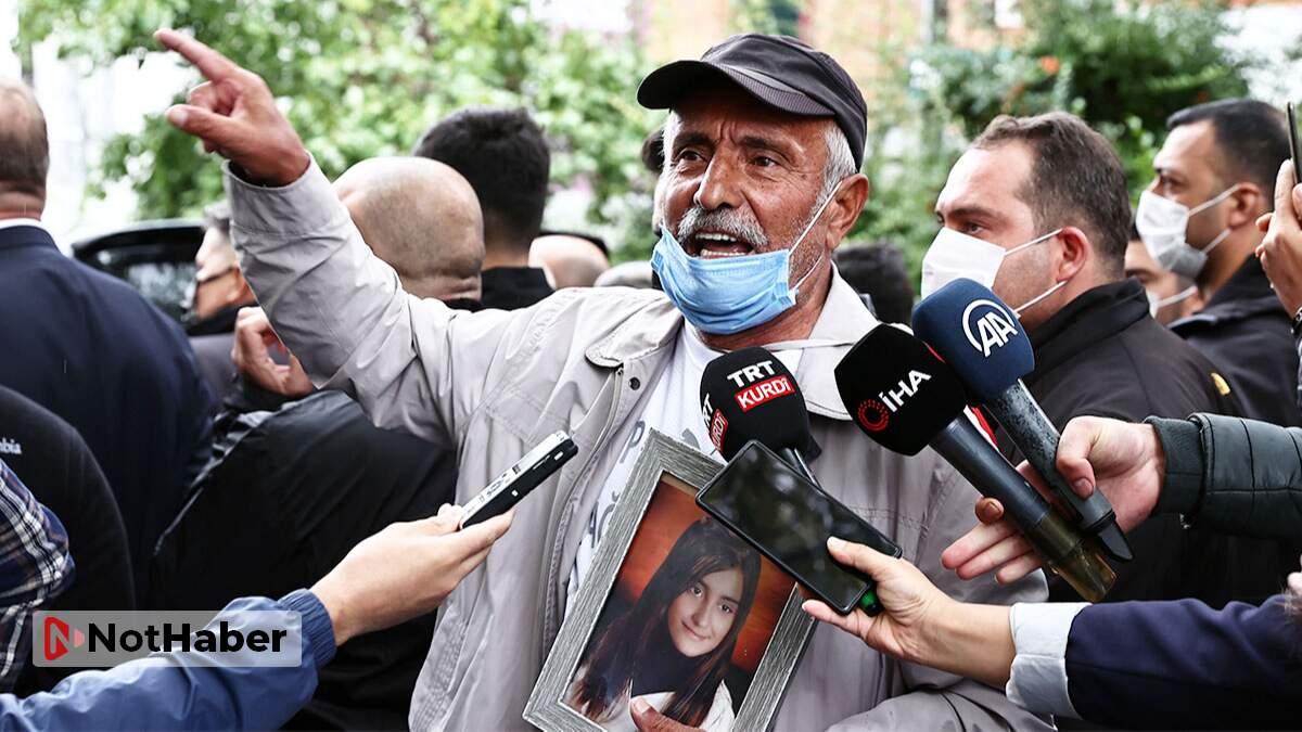 Evlat nöbeti tutmak isteyen acılı babaya HDP'lilerden linç girişimi!