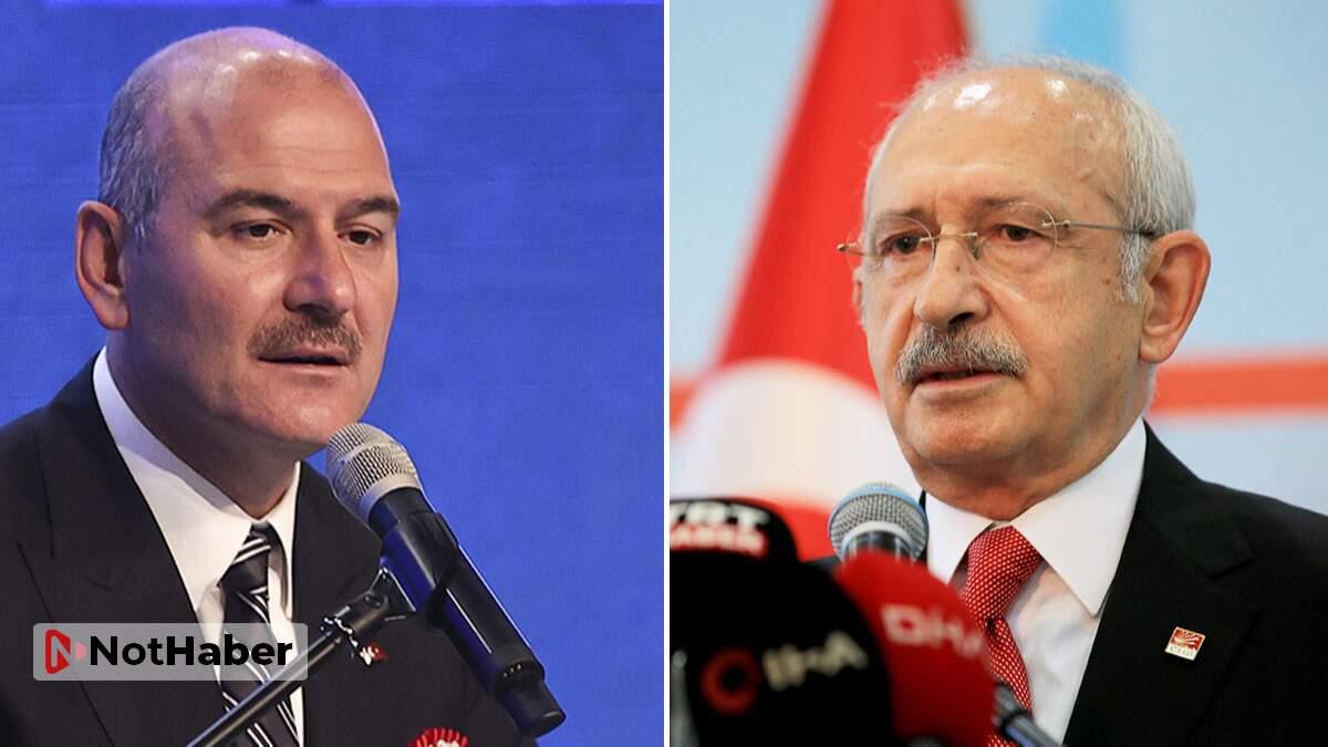 Soylu 'yakaladık' derken, Kılıçdaroğlu 'baronları kolluyor' dedi!