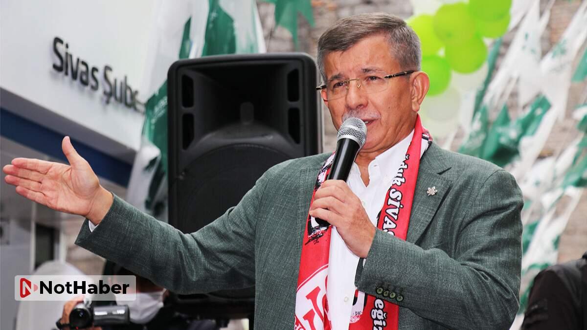 Davutoğlu'na vatandaştan 'dava' tepkisi