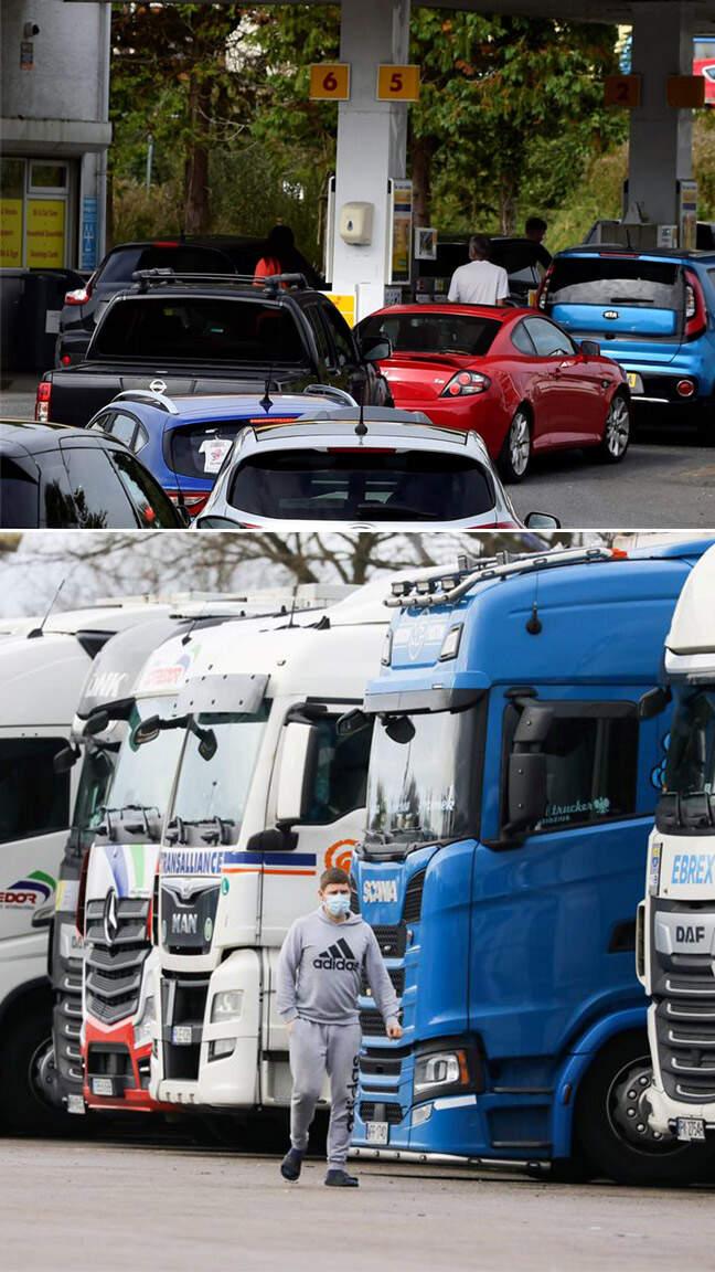"""İngiltere'yi """"kamyon"""" çarptı! Büyük kriz..."""
