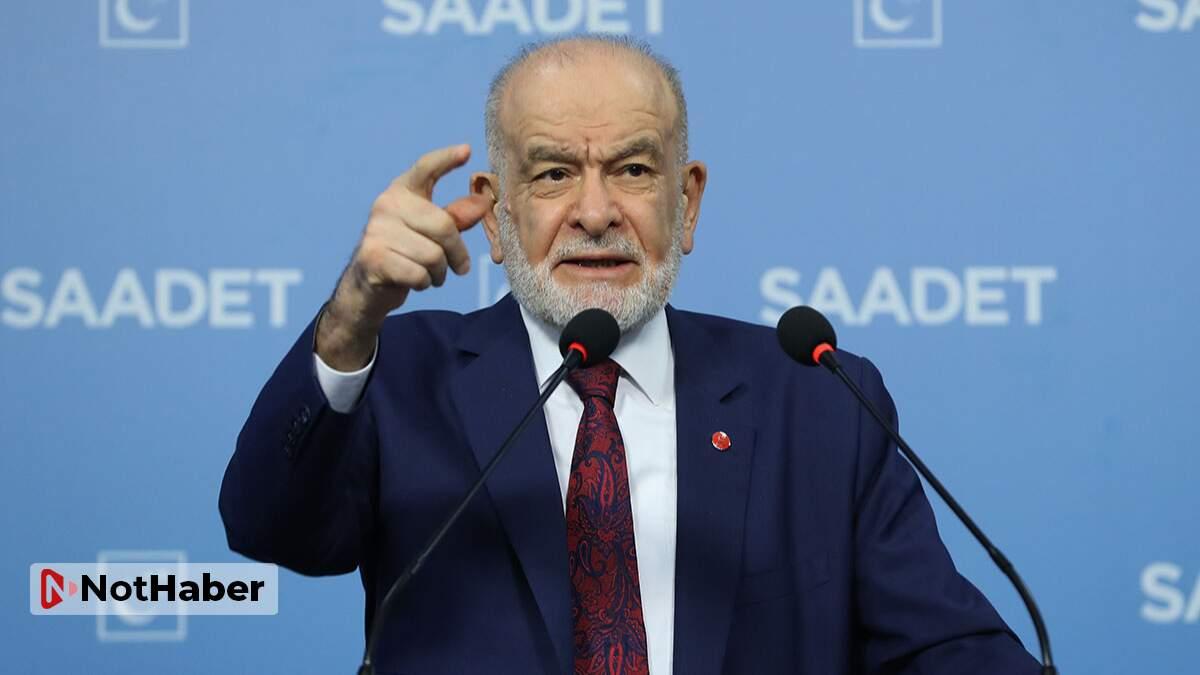 Saadet'ten Akşener yorumu: Kendi tabanına mesaj verdi