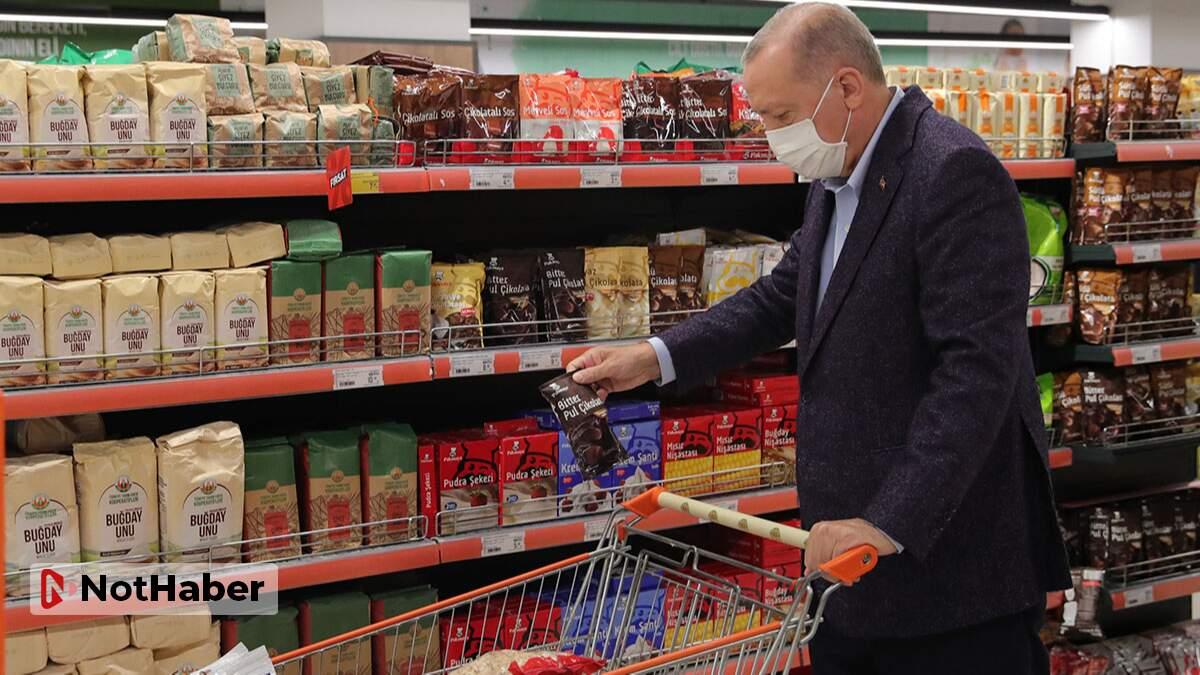 Cumhurbaşkanından marketteki fahiş fiyata kooperatif çözümü