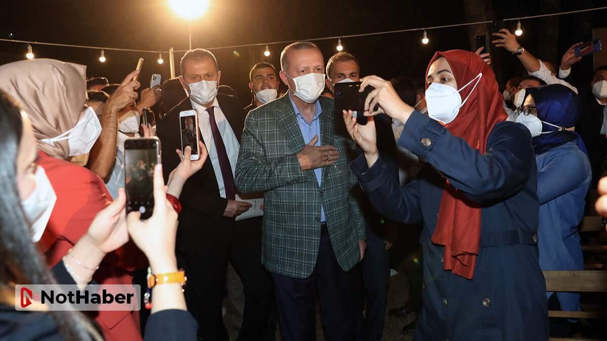 Erdoğan, yeşil kalkınma devrimini gençlerle paylaştı